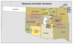 Location of Oklahoma