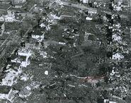 Xenia Ohio after tornado- 1974