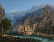 Carol Popp De Szathmary - Pe Valea Oltului