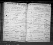 Emma Cronk - Charles Hall marriage record
