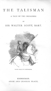 File:Frontispiece 1863 The Talisman-neat.png