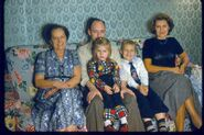 Maria Elisabeth Winblad II (1895-1987) and Nortons for Thanksgiving 1954