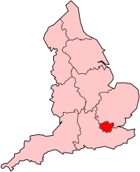 Greater London within England