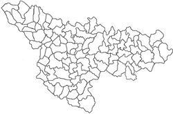 Beregsău Mic, Timiș is located in Timiş County