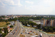 View over the city Timisoara