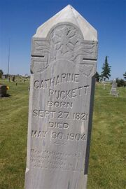 Keever-Catherine tombstone.jpg