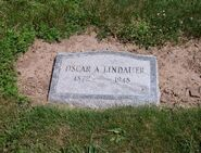 Lindauer-OscarArthur 2011 tombstone