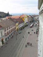 Miskolc walking street1