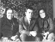 Lemzin Ivan with aunt