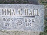 Emma Almira Hall (1890-1891)
