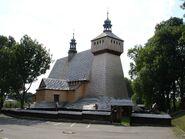 Haczow old latin church