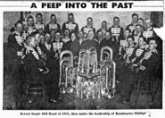 1931 - Bristol Staple Hill Band, Edward William Burgess Baglin
