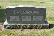 Jensen Barca tombstone
