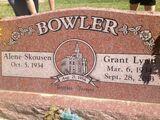 Grant Lynn Bowler (1934-2013)