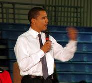 Barack Obama at Monmouth University, West Long Branch, NJ