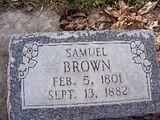Samuel Brown (1801-1882)