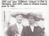 """Wah-be-gwo-nense """"Jane"""" Tebeau (1796-1855)"""