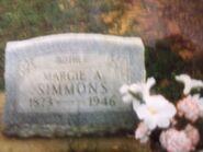 Margie (Richardson) Barnett Simmons (1873-1946)