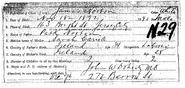 Norton-James 1892 birth