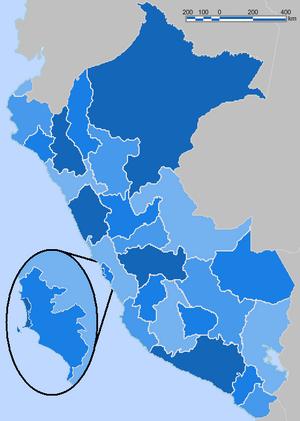 Peru Blue Administrative Base Map.png