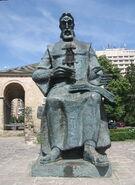 Statuia lui Dosoftei din Iaşi