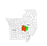 Map of the St. Louis Metropolitan Statistical Area