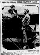 Eddie August Schneider in The Evening Independent of St. Petersburg, Florida on August 19, 1930