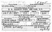 Eidelman-Joseph 1895 petition index