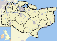Folkestone is located in Kent