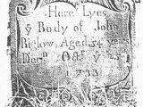 John Bigelow (1677-1733)