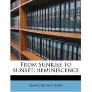 Frank Richardson autobiography