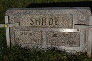Shade william-bertha tombstone
