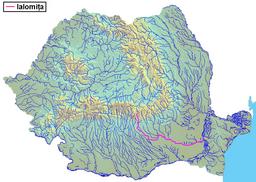 The Ialomița in Romania