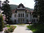 Romania Sinaia city hall