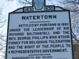 Watertown Founders Monument