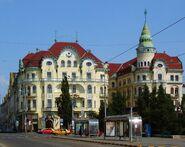 Oradea (Nagyvárad) - piaţa Unirii
