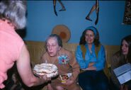 Winblad-Maria February 16, 1974 in Fairfield, New Jersey for her 79th birthday.
