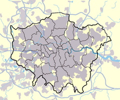 Bethnal Green is located in Greater London
