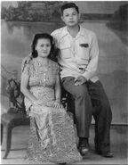Maja's parents