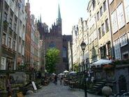 Gdańsk - Old Town, Mariacka street