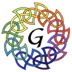 This is a modern version of the Celtic Knot, thought by some to be representative of the interweaving of marriage relationships and the Celtic idea of peacemaking through kin exchange.
