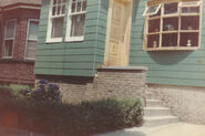 Borland home on Grace Street in Jersey City, New Jersey circa 1960-1965