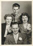 Donald Hall - Joyce Langeance Wedding