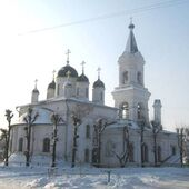 White trinity church