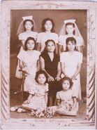 Maja with sisters