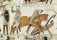 Harold dead bayeux tapestry