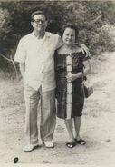 Ludovico Arroyo Banas and Carmen Jalandoni Jover