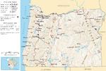 Map of Oregon NA