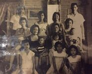 Jover Banas Family in the late 1950s