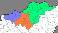 Counties of Northern Hungary Region